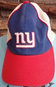 New York Giants NFL Football Fitted Cap Hat One Size Reebok Cotton ... 769b2c5e7