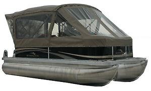 Image is loading Pontoon-boat-top-full-enclosure-fit-on-Bennington-  sc 1 st  eBay & Pontoon boat top full enclosure fit on Bennington 20 SLI 2010 | eBay