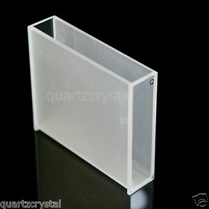 Details about Quartz Cuvette 50 mm , 5cm cuvettes cell spectrometer,  17 5mL, quartz cell cells