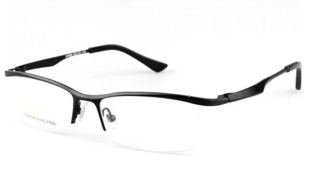 NEW men women Luxury Pure Titanium glasses optical frames Eyeglass frames Black