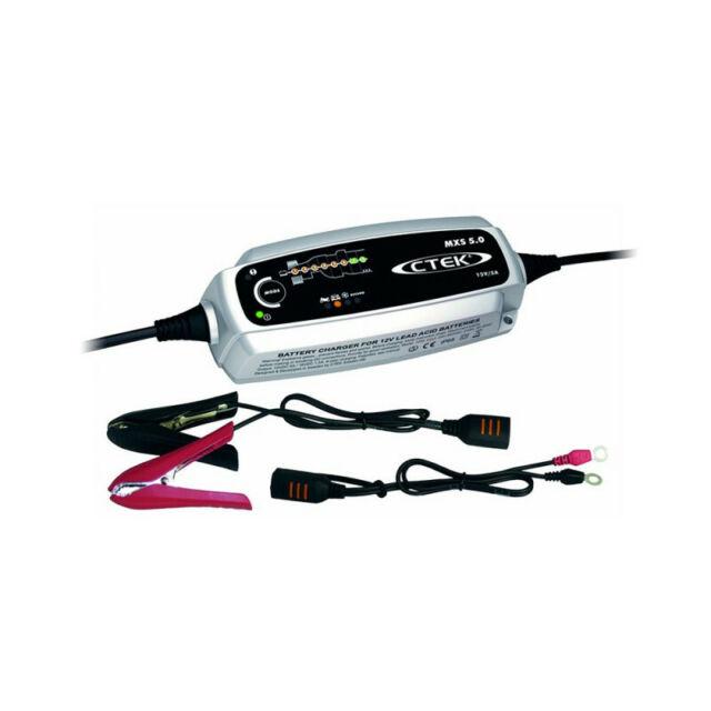 Chargeur de batterie CTEK MXS5 12V 5A pour batterie de 1.2-110ah