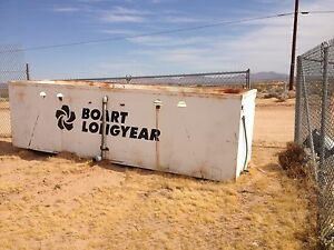 Details about Used Boart Longyear Steel 1,400 Gallon Water Tank with  Baffles 1400