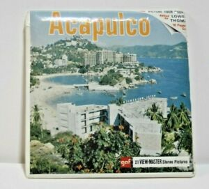 Sawyers View-Master  *UNOPENED* B-003 ACAPULCO MEXICO 3-REEL PACKET NIP