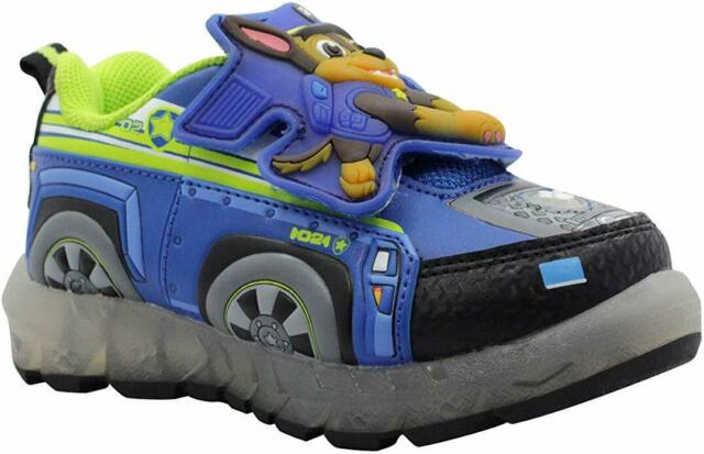 Paw Patrol Light Up Sneakers Toddler Shoes Size 9 Nickelodeon