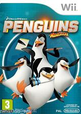 PINGUINI Di Madagascar (Wii) * NUOVO + SIGILLATO * DREAMWORKS Skipper Kowalski Rico