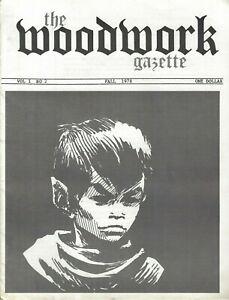 WALLACE-WOOD-WALLY-THE-WOODWORK-GAZETTE-VOL-1-NUMBER-2-FALL-1978-FRIENDS-ODKIN