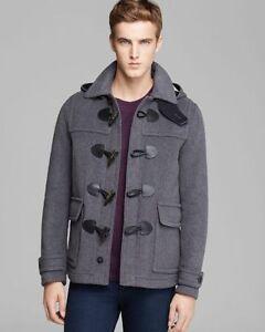 0b6784cf3518f  995 BURBERRY BRIT MEN S Burwood Peacoat Coat JACKET SMALL NWT ...