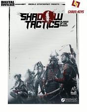Shadow Tactics Blades of the Shogun STEAM Key Pc Code Blitzversand [DE] [EU]