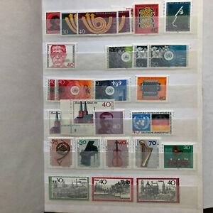 BRD-Briefmarkenalbum-Postfrisch-Sammlung-fuer-Einsteiger-ab-ca-1973