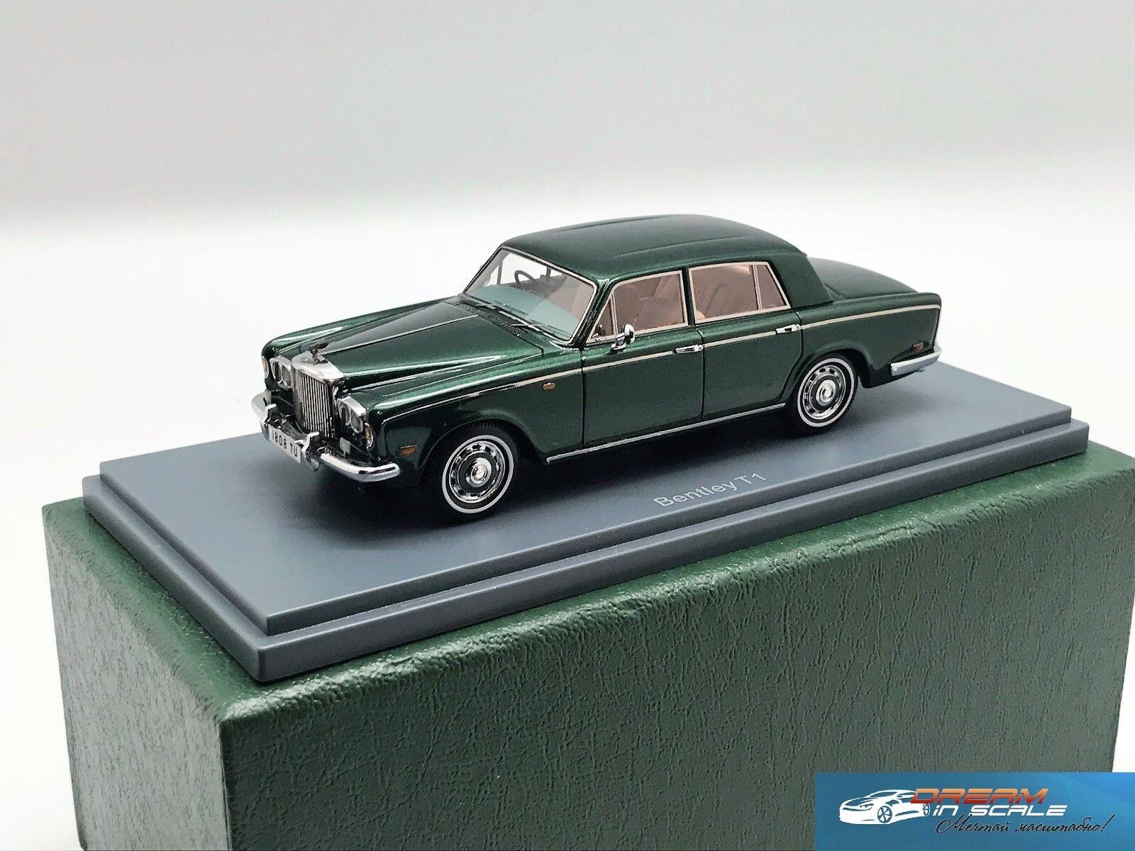 Bentley T Saloon  green met 1974 NEO44135 1 43