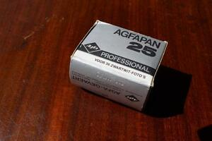 1970s Agfapan 25 Professional Black and White negative Film 36 Exp 24x36 mm - <span itemprop='availableAtOrFrom'>Ashford, United Kingdom</span> - 1970s Agfapan 25 Professional Black and White negative Film 36 Exp 24x36 mm - Ashford, United Kingdom