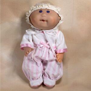 cabbage patch kids girl doll bald blue eyes 11 all vinyl mattel
