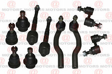 Tie Rods Inner/ Outer Trucks Armada Titan Upper Lower Ball joints Sway Bar Links