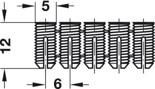20  SPREADING NYLON DOWELS 5mmHOLE FREE P/&P