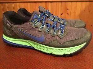 Nike-Air-Zoom-Wildhorse-3-GTX-Gore-Tex-Running-Shoe-Men-039-s-10-5