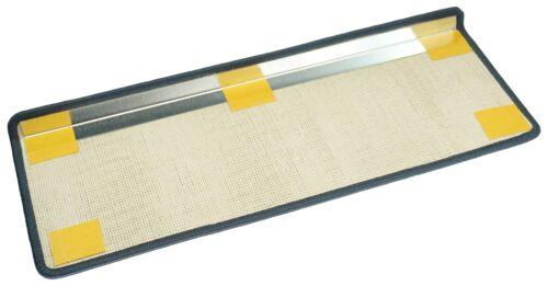 haute qualité Tapis d/'escalier velours Madrid 65x23 carré 6 couleurs