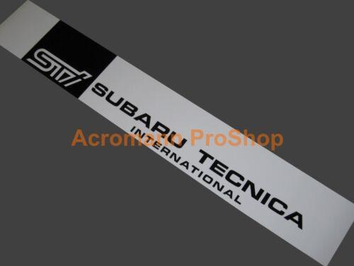 "53/"" Windshield decal sticker banner sun strip visor for brz wrx sti xti 6 legacy"
