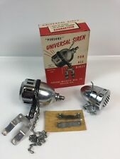 2- NOS Persons Majestic Bicycle Sirens Original Box ~~Schwinn Wildcat Hand Crank