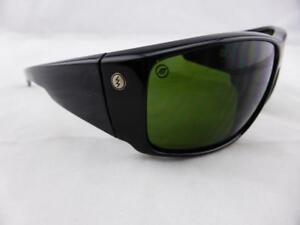 5bf0b5e804 Image is loading Electric-BACKBONE-Sunglasses-Gloss-Black-OHM-Grey-Lens