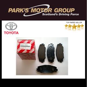 Genuine-Toyota-Rav-4-2005-2012-Pastillas-de-freno-delantero-04465-yzzdy