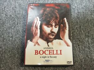Andrea Bocelli-A Night In Tuscany-DVD-Sarah Brightman-Time ...