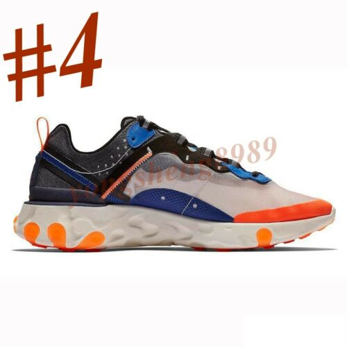New Orange React Element Mens Running Shoes Ultra Sneakers Trainer Sports Shoes