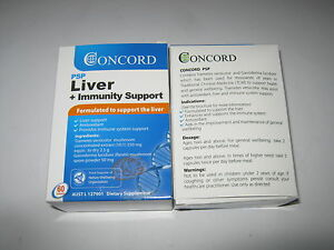 Concord PSP Liver + Immunity Support 60 capsules