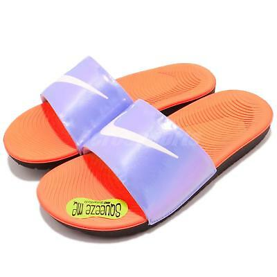 Men's Shoes Cooperative Nike Kawa Slide Se Gs Ps Twilight Pulse Purple Kid Sports Sandal Aj2503-001
