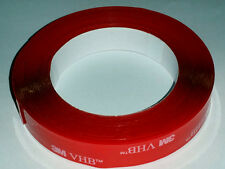 3M VHB 4905 Double Sided Clear Acrylic Foam Tape Transparent Adhesive 10ft 1in