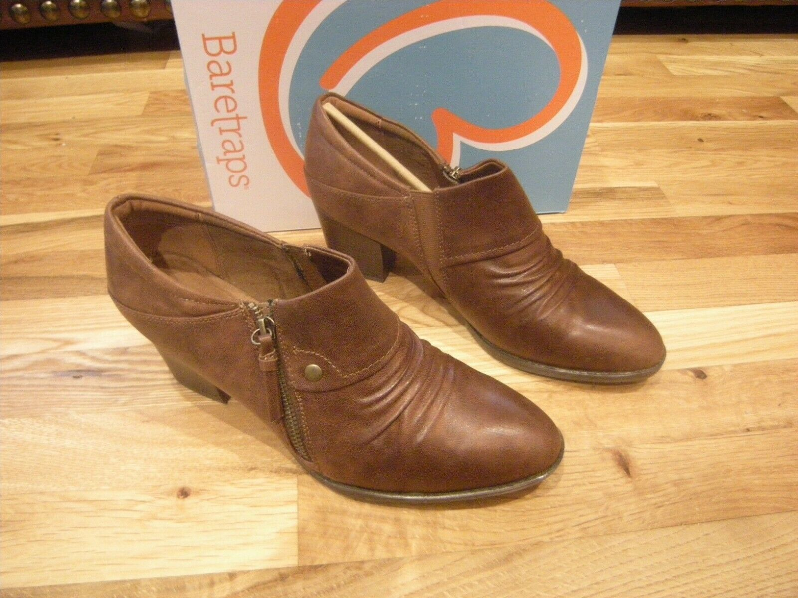 New Womens Whiskey Brown  Baretraps Finella Boots, Size 11 M