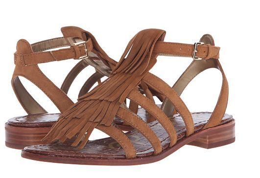 Sam Edelman Estelle Saddle Suede Ankle Strap Sandale Damenss 6-10/ NEU