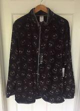 Disney Nightmare Before Christmas Jack Skellington Fleece Jacket Large