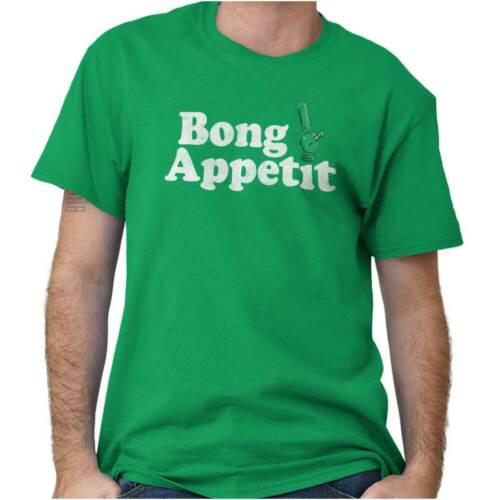 Bong APPETIT Weed Marijuana Stoner Stoned 420 à manches courtes T-shirt tees tshirts