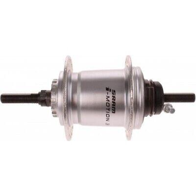 Sram Hinterrad Nabe 3V I-Antriebe für I-Brake kahl 36G 175 mm silber