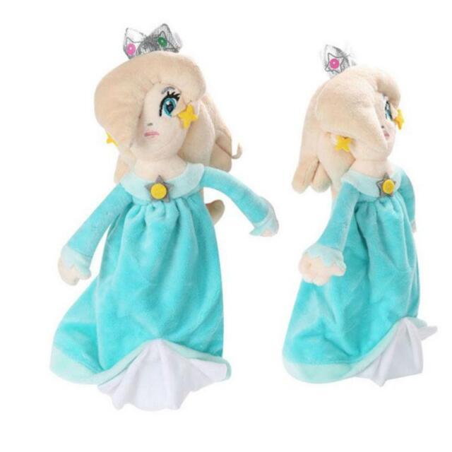 "Super Mario Bros Princess Rosalina 8"" Stuffed Plush Toy Kid Gift Soft Doll Xmas"