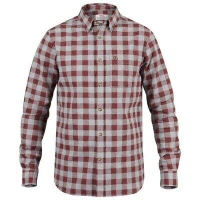 F81883-345 Fjallraven Ovik Shirt Red Oak Various Sizes