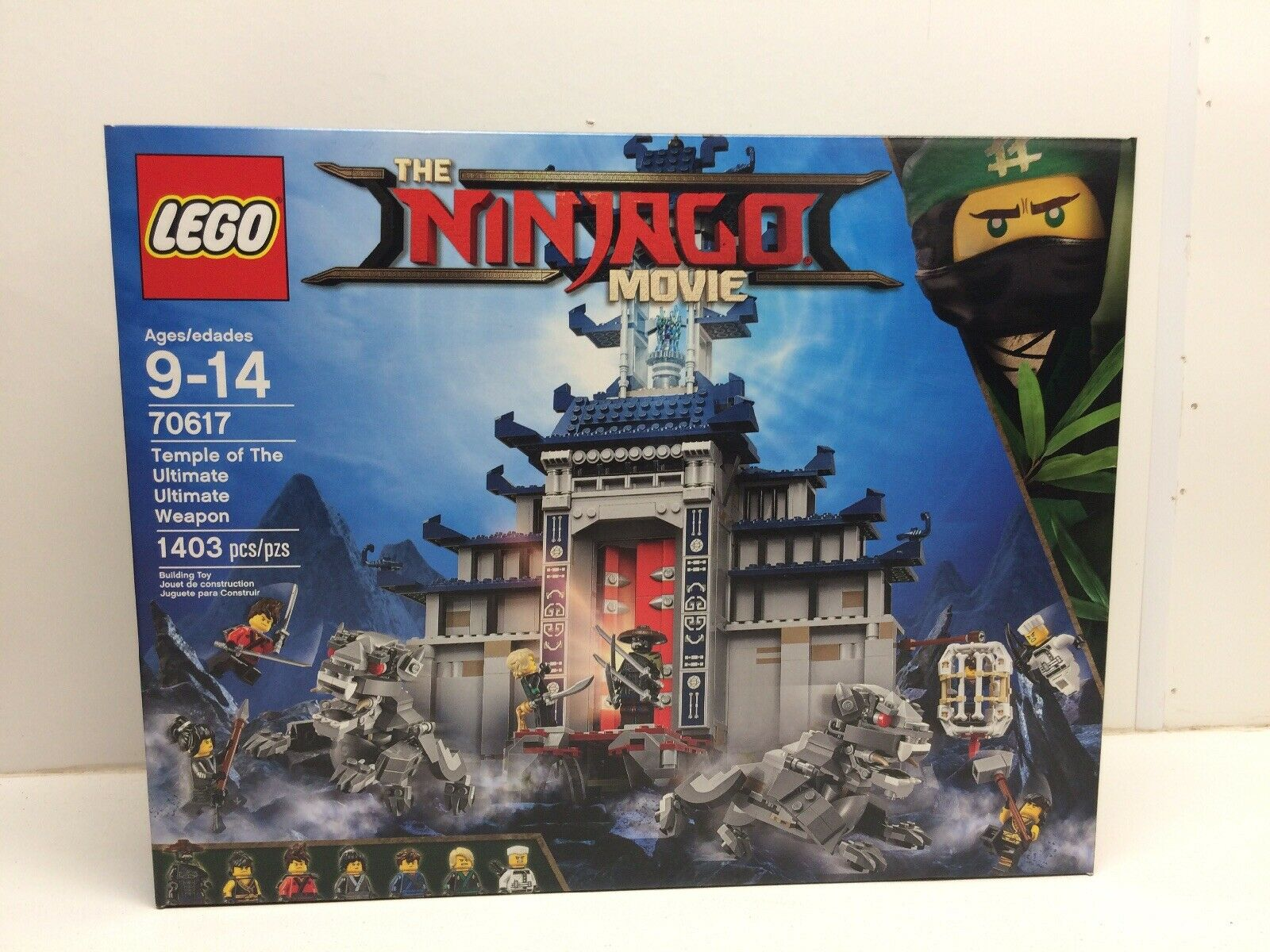 New LEGO Ninjago Temple Of The Ultimate Ultimate Weapon NISB NIB 70617