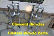 "26"" x 4.0 Triple Tree Fat Beach Cruiser BICYCLE Bike Fork 1"" threadless Chrome"