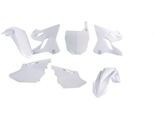 RTECH YAMAHA YZ 125 250 15-16 plastikit KIT PLASTICA kunstoffteile BIANCO WHITE