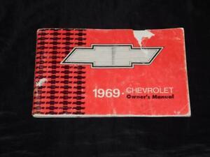 1969-Chevrolet-Biscayne-Bel-Air-Impala-Caprice-Owners-Manual-Original-Vintage