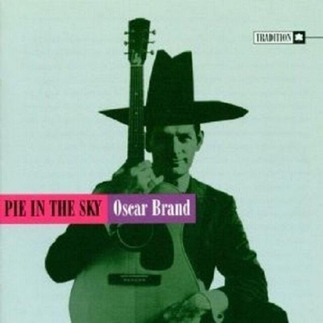 OSCAR BRAND - PIE IN THE SKY CD FOLK 16 TRACKS NEW