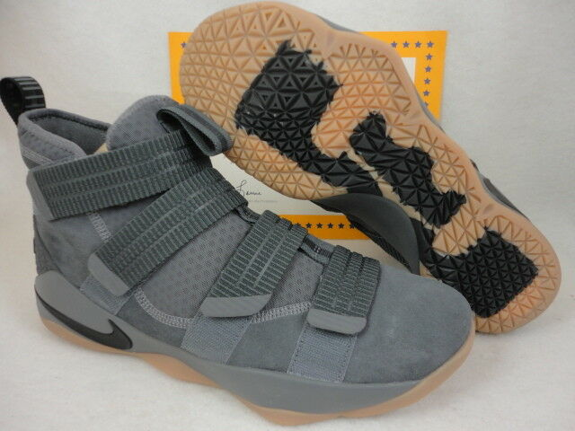 4af2169a5bb Nike Lebron Soldier XI SFG Mens Basketball Shoes 12 Dark Grey 897646 003  for sale online