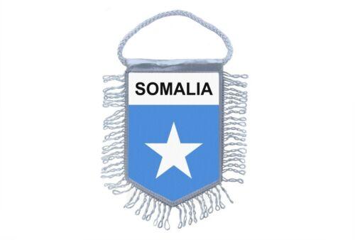 Mini banner flag pennant window mirror cars country banner somalia