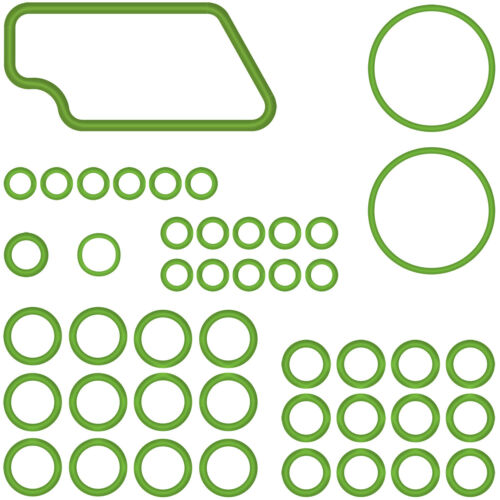 Automotive AC A//C System O-Ring Kit Gasket Seals Santech MT2584