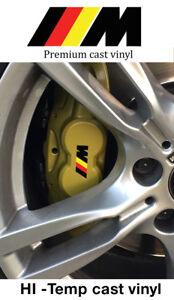 Set of 6 X  Akebono Hi temp premium brake caliper decal sticker