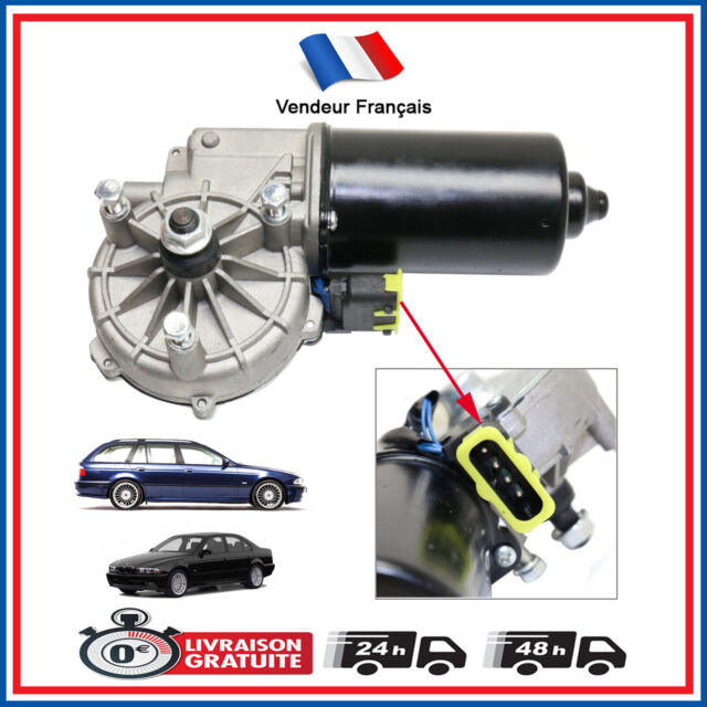 Motor de Limpiaparabrisas Cristal Antes Completo BMW Serie 5 E39 520 525 530 535