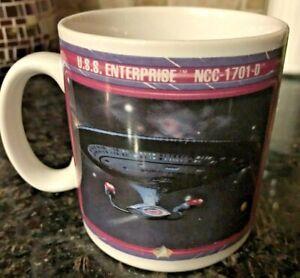 1992-Star-Trek-Next-Generation-U-S-S-Enterprise-NCC-1701-D-Mug-Paramount