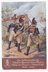 AK-Jahrhundertfeier-des-Inf-Rgt-125-um-1909