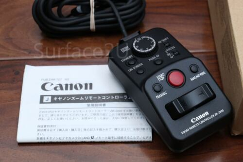 Fast Free Ship Canon ZR-2000 Zoom Camcorders Remote Controller Control-L Lanc