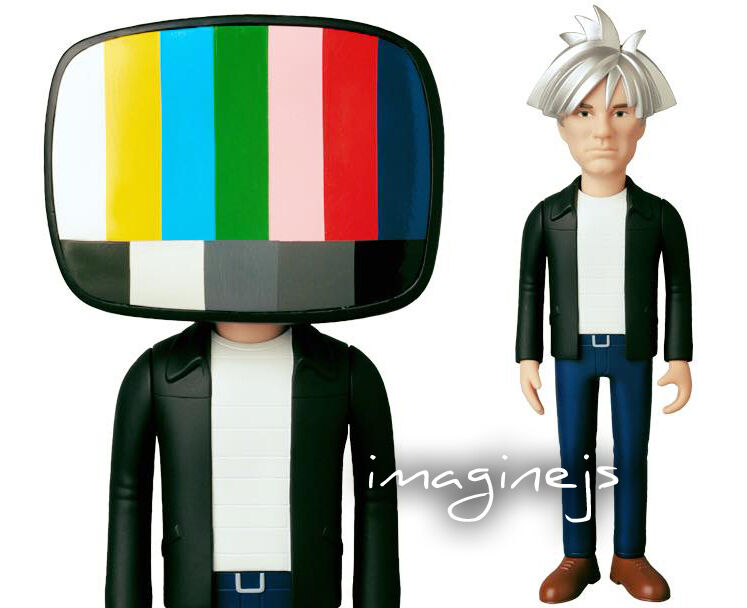 NEW Medicom VCD Andy Warhol 80's STYLE Version Figure